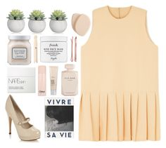 """""""56. you'd be so easy to love"""" by tenminutesagoo ❤ liked on Polyvore featuring Call it SPRING, The Criterion Collection, Clé de Peau Beauté, Laura Mercier, Elie Saab, Fresh, Madewell, Chloé, Dr. Dennis Gross Skincare and NARS Cosmetics"""