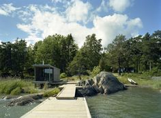 Sauna in the archipelago of Stockholm, Sweden by Arkitektstudio Widjedal Racki    Architecture