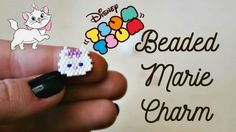 DIY Disney Tsum Tsum Marie Beaded Charm // Bead Weaving // ¦ The Corner ...