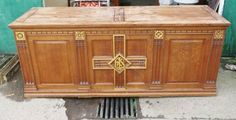 Llanelli Grand Oak Centrepiece Altar - Top trade supplier of Antique Ecclesiastical Furnishings, furniture, fixtures and fittings in Great Britain. Hope Chest, Great Britain, Altar, Centerpieces, Antiques, Storage, Top, Furniture, Home Decor