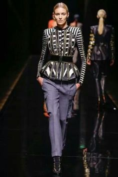 Balmain AW14 collection