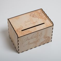 Blacklist Prints – Wishing Well Box Engraved Wood