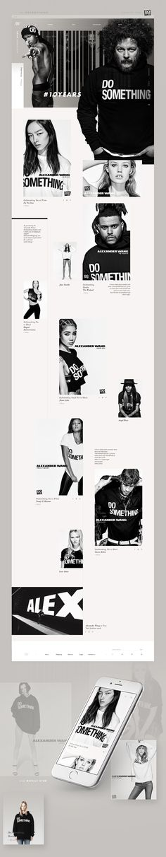 Alexander Wang | Redesign Concept on Behance