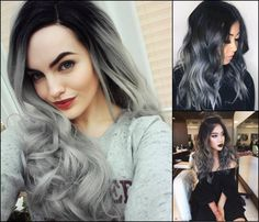 Hairstyles Magnifying Ombre Grey Hair Colors, Want to prepare to fulfill winter appropriately? Here is an efficient approach to do it - dye hair into gray! Well, the moods of autumn and winter...