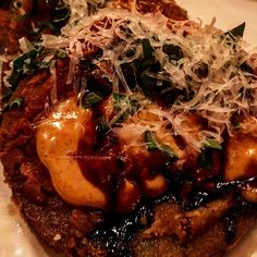 fried green tomatoes from a favorite restaurnt in DC...find out which at http://www.apronsshop.com