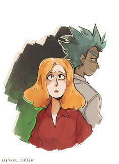 ikimaru-artist-Rick-and-Morty