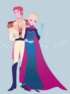 Hans x Elsa | Helsa / Hansla / iceburns Fire & Ice | Disney's Frozen | animated movie | OTP