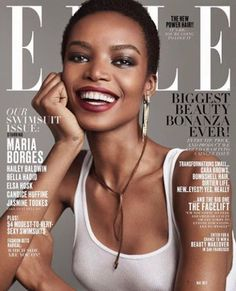 Maria Borges é a primeira negra na capa da 'Elle USA' em 20 anos - Geledés