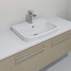Caroma Urbane Inset Basin - Basins - Bathware Direct | Bathroom ...