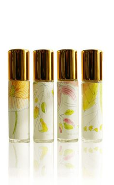 Limited Edition Natural Perfume Rollerball Collection - Forager Botanicals - Forager Botanical Perfumes - Natural Perfume Handcrafted in Brooklyn New York
