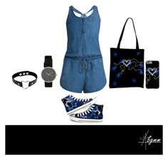 """Monster Heart"" by bgmmstore ❤ liked on Polyvore featuring Splendid and Converse"