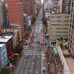 Ayer se abrió la inscripción para la maraatón de #nuevayork  @nycmarathon Cuantos recuerdos persiguiendo a los corredores por la ciudad! Un espectáculo inolvidable #nycmarathon
