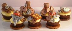 Steampunk cupcandies and truffles #steampunk #chocolate Wedding Favors Custom confections for any occasion. www.mysweetfavorites.com