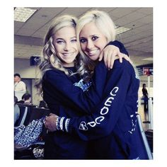 Cheer Athletics: Jamie Andries | Peyton Mabry | Carly Manning / peyton... ❤ liked on Polyvore