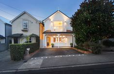Modern meets heritage with this full rebuild of a Ponsonby cottage on one of the suburb's most loved streets. Summer Street, Cottage, Homes, Urban, Mansions, House Styles, Modern, Home Decor, Houses