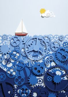 The Sea of Time, Kyle Bean. I like the gears.
