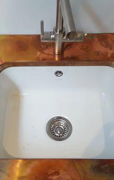 Made to measure bespoke Copper & Zinc worktops & splashbacks kitchen islands