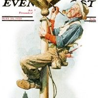 Gilding the Eagle  Norman Rockwell  May 26, 1928
