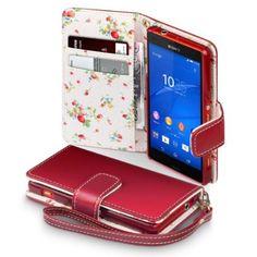 Terrapin Handy Leder Brieftasche Case Hülle mit: Amazon.de: Elektronik