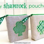 """""""S"""" is for Shamrock Pouches"""