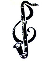 This is EAXCTLY how I want my middle piece to look with the exception of th bass clarinet being a tenor sax and the body being the words. Band Mom, Band Nerd, Tattoo Musik, Ukulele, Bass Clarinet, Tenor Sax, Music Tattoos, Tatoos, Music Images