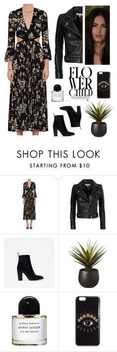 """""""Flower Child - Fall - Bastet Outfits"""" by carla-turner-bastet ❤ liked on Polyvore featuring A.L.C., IRO, Zara, CB2, Byredo, Kenzo and meganfox"""