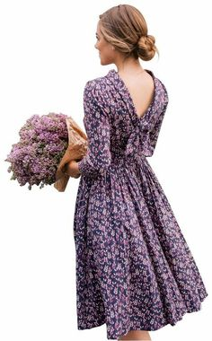 Lavender Cottage, Church Outfits, Mid Length, Lilac, Size 12, Shopping, Flower, Casual, Dresses