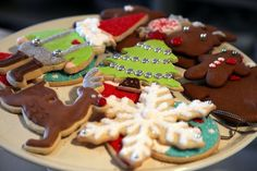 Christmas cookies, decorated by TV's Dani Fiore, were a very big hit at the annual Cantitoe Farm Christmas party. Personally, it is heartbreaking to see the head of a gnome chomped off, when it took 30 minutes to decorate! Gingerbread Cookies, Christmas Cookies, Martha Stewart Blog, Jingle All The Way, Cookie Desserts, Holiday Parties, Waffles, Special Occasion, Memories