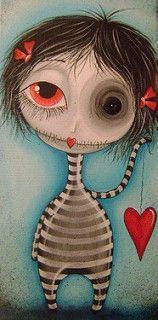 heart monster | by Megan K. Suarez
