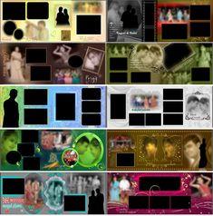 13 Superb Wedding Album 200 Photos Wedding Album For Mom Wedding Album Cover, Wedding Album Layout, Wedding Photo Albums, Indian Wedding Album Design, Indian Wedding Photos, Marriage Photo Album, Digital Photo Album, Wedding Background Images, Album Cover Design