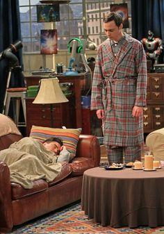 Still of Johnny Galecki and Jim Parsons in The Big Bang Theory 3-d-goosebumps