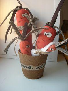 куклы из ткани молодая семья морковок