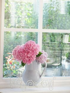 Blue Hortensia: Romantične hortenzije...