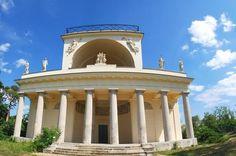 Kudy z nudy - Apollonův chrám s vyhlídkou Gazebo, Outdoor Structures, Kiosk, Pavilion, Cabana