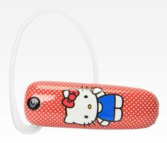 Hello Kitty Bluetooth Headset: Polka Dot $34.99