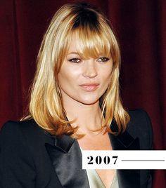 Kate Moss - bangs