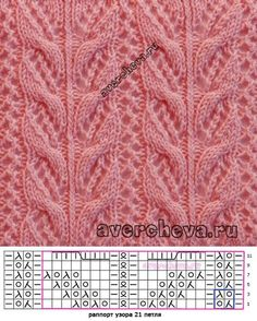This Pin was discovered by tul - Strickmuster Anleitung Lace Knitting Stitches, Lace Knitting Patterns, Cable Knitting, Knitting Charts, Easy Knitting, Knitting Designs, Diy Crafts Knitting, Crochet Socks, Free Crochet