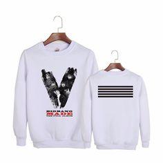 BIGBANG MADE The Full Album White Cool Trendy Fashion Sweatshirt #BIGBANG #MADE #TheFullAlbum #White #Cool #Trendy #Fashion #Sweatshirt #KIDOLSTUFF #KPOP