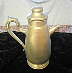 Vintage pewter flagon for sale at More Than McCoy at http://www.morethanmccoy.com