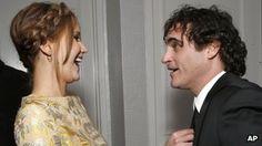 Jennifer Lawrence and Joaquin Phoenix at the Los Angeles Film Critics Association Awards