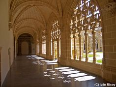 Walkway in the Monastery in old Jerez http://tomatours.com/andalucia