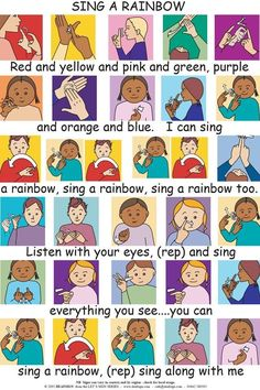 The British Sign Language or BSL is the Sign language that is used widely by the people in the United Kingdom. This Language is preferred over other languages by a large number of deaf people in the United Kingdom. Sign Language Colors, Sign Language Songs, Sign Language For Kids, Sign Language Alphabet, Sign Language Interpreter, British Sign Language, Learn Sign Language, Language Lessons, Preschool Songs