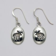 Moose Imprint Earrings at theBIGzoo.com, a toy store that has shipped over 1.2 million items.