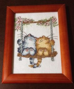 Counted cross stitch made in 2010; Margaret Sherry kit from @xstitchmagazine