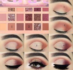 Sexy Eye Makeup, Makeup Eye Looks, Eye Makeup Steps, Eye Makeup Art, Blue Eye Makeup, Makeup For Brown Eyes, Eyebrow Makeup, Mac Makeup, Clown Makeup