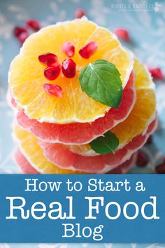 Here I tell everything you need to know how to start a real food blog the right way, so you can avoid unnecessary stress and experience success immediately!