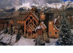 Mountain Lodge Telluride - Five Star Hotel - - So pretty! Love the Mountains! Telluride Hotels, Telluride Colorado, Mountain Style, Mountain Living, Mountain High, Places Around The World, The Places Youll Go, Places To Go, Baguio