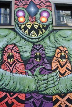 Lower Haight Street Art/ Murals - San Francisco