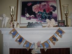Easter Bunny Garland SOLD Easter Garland, Easter Bunny, Banner, Banner Stands, Banners
