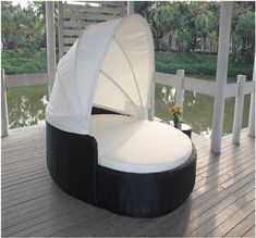 Outdoor Sunbed Rattan Furniture Round Daybed for Beach Rattan Sun Lounge with Canopy Material : Rattan / Wicker. Frame : Aluminum Frame. Folded : No. Size : 190*160*83. Cushion : 8cm. Appearance : Modern. Application : Patio\Garden\Outdoor\Hotel\Beach. Product Description outdoor sunbed rattan furniture round daybed for beach rattan sun lounge with canopy Related Products 1. Aluminum thickness are at least 1.2mm , some with thicker pipes depends on the construction. Pipes siz Outdoor Daybed, Outdoor Lounge, Outdoor Decor, Rattan Furniture, Outdoor Furniture, Pipe Sizes, Outdoor Gardens, Canopy, Wicker